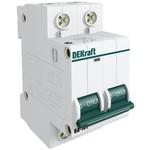Автоматический модульный выключатель ва101-2p-032a-c dekraft 11069dek 121913