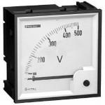Мультиметр / вольтметр Schneider electric 0-500В 96х96мм