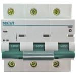 Автоматический модульный выключатель ва201-3p-100a-c dekraft 13009dek 121937