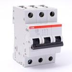 Автоматический выключатель ABB 3-полюсный S203 C63