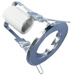 Точечный светильник R39 220В Е14 хром встраиваемый