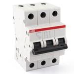 Автоматический выключатель ABB 3-полюсный SH203L C20