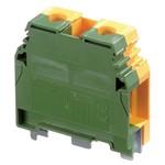 Клеммник ABB М35/16 P на DIN-рейку 35мм.кв. желто-зеленый