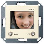 Цветной TFT-дисплей для домофона Gira System 55 Крем глянцевый