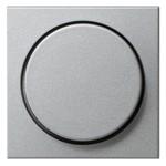 Накладка светорегулятора поворотного System 55 Gira алюминий