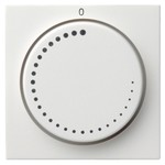 Накладка регулятора частоты вращения System 55 Gira белый глянцевый
