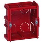 Монтажная коробка Legrand Batibox 1п гл.30мм для кирпичных стен [уп. 20шт]