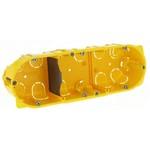 Монтажная коробка Legrand Batibox 3п гл.50мм для сухих перегородок [уп. 30шт]