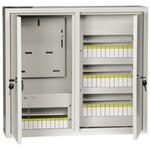 Щит металлический ЩУРн-3/48зо-1 36 УХЛ3 IP31 на 3-х фазный счетчик и 48 модулей навесной ИЭК