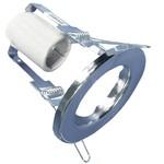 Точечный светильник R80 220В Е27 хром встраиваемый