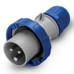 Вилка кабельная DKC Quadro IP67 32A 2P+E 230В