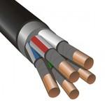 Кабель силовой ВВГнг(А)-FRLS 5х4 (ок)-0.660 огнестойкий (СегментЭнерго)