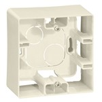 Коробка Legrand Etika 1 пост для накладного монтажа, слоновая кость