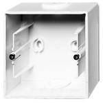 Коробка для накладного монтажа, 1 пост ABB Basic 55 альпийский белый (1701-94)