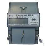Электросчетчик Меркурий 206 RN 5-60А/220В кл.т.2,0 многотарифный ЖКИ RS-485
