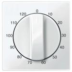 Накладка для механизма таймера 120 мин. System M Merten полярно-белый