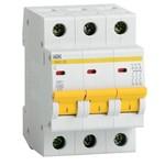 Автоматический выключатель ВА47-29 3Р  6А 4,5кА х-ка С ИЭК