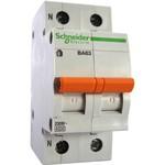 Автоматический выключатель Schneider Electric ВА63 1п+н 16A C 4,5 кА