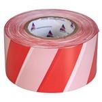 Лента оградительная ЛО-100 красно-белая 75мм 35мкм (100м)