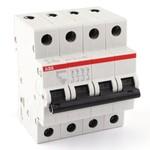 Автоматический выключатель ABB 4-полюсный SH204L C63