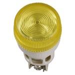Лампа ENR-22 сигнальная d22мм желтый неон/240В цилиндр ИЭК
