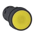 Кнопка Schneider Electric XB7NA81 c возвратом 1НО 22мм желтая