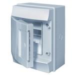 Влагозащищенный настенный бокс ABB Mistral65 4М непрозрачная дверь без клеммного блока