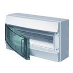 Влагозащищенный настенный бокс ABB Mistral65 18М прозрачная дверь без клеммного блока