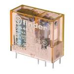 Миниатюрное PCB-реле Finder выводы 5мм, 1 контакт, 16A AC (50/60Гц) 230В AgCdO