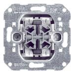 Выключатель 2-клавишный кнопочный на 4 направления Gira механизм
