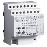 4-местное исполнительное устройство рольставней 230 В АС с ручным управление Gira KNX/EIB REG plus-т