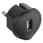 USB Зарядное устройство Legrand 230В - 1,5А - 5В черный
