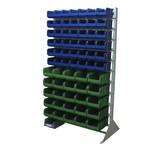 Односторонняя сине-зеленая стойка 1150х2000 стелла в1-00-06-05
