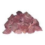 Камень малиновый кварцит колотый (20кг.)