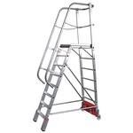 Лестница с платформой vario krause 14 ступеней 833372