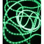 Светодиодный дюралайт Rich LED 13 мм, круглый, 2-х проводной, кратность резки 1 м, фиксинг, зеленый RL-DL-2WH-100-240-G