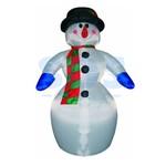 """3D фигура надувная """"Снеговик"""", размер 6 м, компрессор 160 Вт с адаптером 12В, IP 44 NEON-NIGHT"""