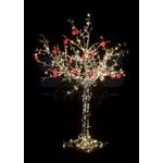 """Светодиодное дерево """"Яблоня"""", высота 2.5 м, 20 красных яблок, тепло-белые светодиоды, IP 54, понижающий трансформатор в комплекте, NEON-NIGHT"""