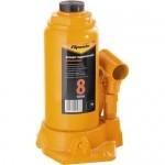 Домкрат гидравлический бутылочный, 8 т, h подъема 200-385 мм SPARTA 50324