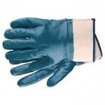 Перчатки рабочие из трикотажа с нитриловым обливом, крага, L СИБРТЕХ 67759