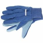 Перчатки рабочие х/б ткань с ПВХ точкой, манжет, XL СИБРТЕХ 67764