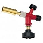 Профессиональная горелка на газовый баллон, пьезоподжиг, металл. корпус MATRIX 91426