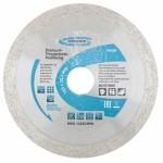 Диск алмазный ф230х22,2мм, сплошной, мокрое резание GROSS 730497