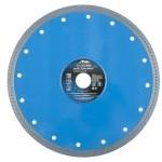 Диск алмазный Сплошной ф230х22,2 мм, тонкий, мокрое резание БАРС 73097