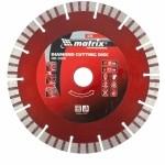 Диск алмазный отрезной Турбо-сегментный, 180 х 22,2 мм, сухая резка MATRIX Professional 73146
