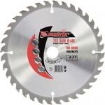 Пильный диск по дереву, 190 х 20мм, 48 зубьев, + кольцо, 16/20 MATRIX Professional 73214