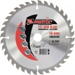 Пильный диск по дереву, 255 х 32мм, 72 зуба + кольцо 30/32 MATRIX Professional 73243