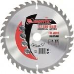 Пильный диск по дереву, 200 х 32мм, 24 зуба, + кольцо, 30/32 MATRIX Professional 73261