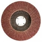 Круг лепестковый торцевой КЛТ-1, зернистость Р40(40Н), 125 х 22,2 мм, (БАЗ)