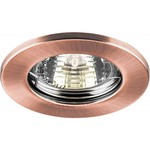 Светильник потолочный, MR16 G5.3 античная медь, DL10